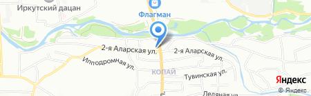 СанТрейд-АВТО на карте Иркутска