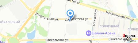Шерше ля фам на карте Иркутска