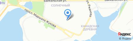 Адвокатский кабинет Саляхутдинова Ю.Ф. на карте Иркутска