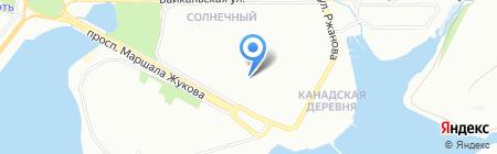 ДАЙМЭКС на карте Иркутска