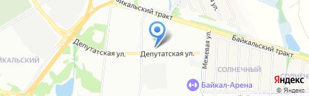 SunHotel на карте Иркутска