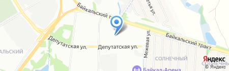 Деловой Консалтинг на карте Иркутска