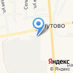 ВостСибСтройМаркет на карте Хомутово