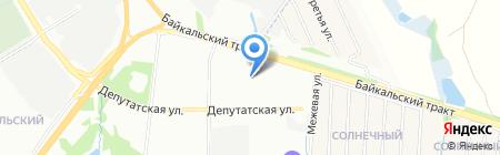СибТЭЛ на карте Иркутска