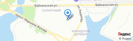 Спорт и Я на карте Иркутска