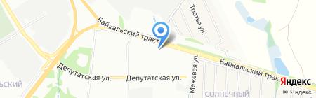 АНТЦ+ на карте Иркутска