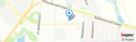 Икс Три на карте Иркутска