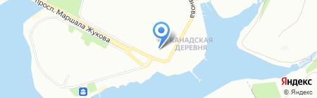 Мое солнышко на карте Иркутска