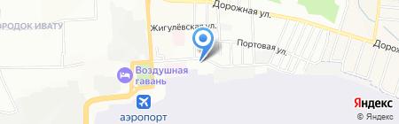 Блисс-Сервис на карте Иркутска