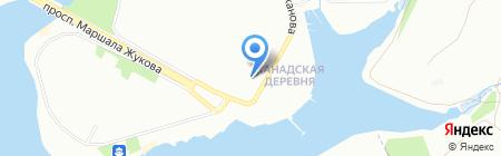Гранд Тур на карте Иркутска