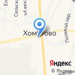 Бартер на карте Хомутово