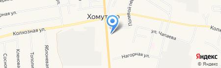 АвтоМаг на карте Хомутово