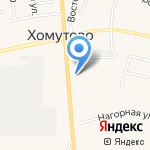 Подорожник на карте Хомутово