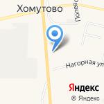 Виноград на карте Хомутово