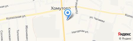 Сухотина Т.В. на карте Хомутово
