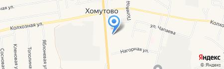 Трикотаж Плюс на карте Хомутово