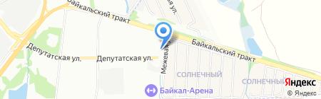 Креатив на карте Иркутска