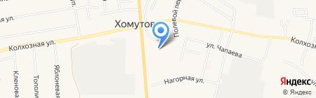 Одежда больших размеров на карте Хомутово