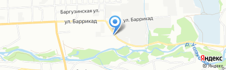Аврора+ на карте Иркутска
