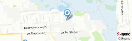 Абсолютный Буст на карте Иркутска