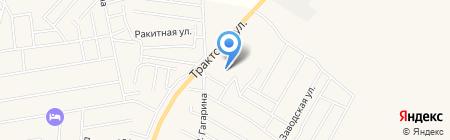 АЗС на карте Хомутово