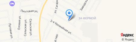 Как дома на карте Хомутово