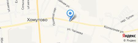 A & A на карте Хомутово