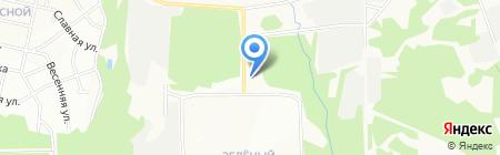 Автострахование на карте Иркутска