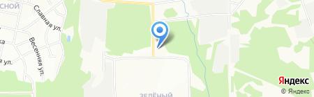 Квадро-дизайн на карте Иркутска