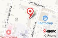 Схема проезда до компании Белорусский Торговый Дом в Хомутово