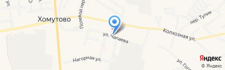 Ритус на карте Хомутово