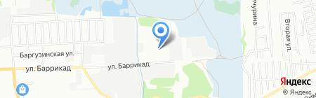 Сеть-Авто на карте Иркутска