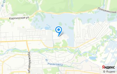 Местоположение на карте пункта техосмотра по адресу г Иркутск, ул Баррикад, д 120
