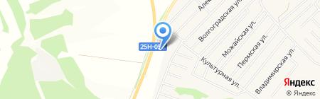 АЗС КрайсНефть на карте Иркутска