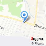 СТО Дзержинский на карте Дзержинска