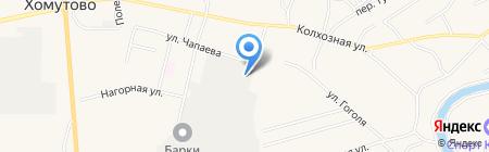 ЭКОБЫТСЕРВИС на карте Хомутово
