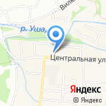 Поликлиника на карте Дзержинска