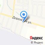 Райский сад на карте Дзержинска