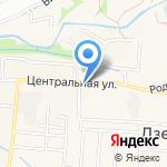 Людмила на карте Дзержинска