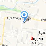 Иркутский на карте Дзержинска
