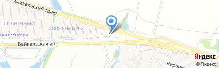 Нептун на карте Иркутска