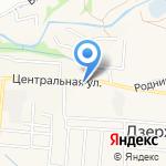 Начальная школа-детский сад на карте Дзержинска