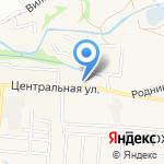 Станция скорой помощи на карте Дзержинска