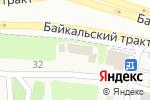 Схема проезда до компании ОкноСфера в Новой Разводной