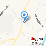 Рубин на карте Хомутово