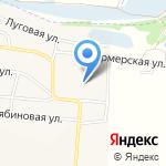 Время Суши на карте Дзержинска