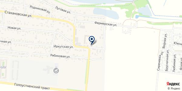 Северная фишка на карте Дзержинске