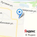 Северная фишка на карте Дзержинска
