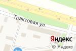 Схема проезда до компании Прораб в Молодёжном