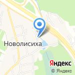 Квадрат-Сталь на карте Иркутска